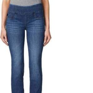 Skinny pull on jeans